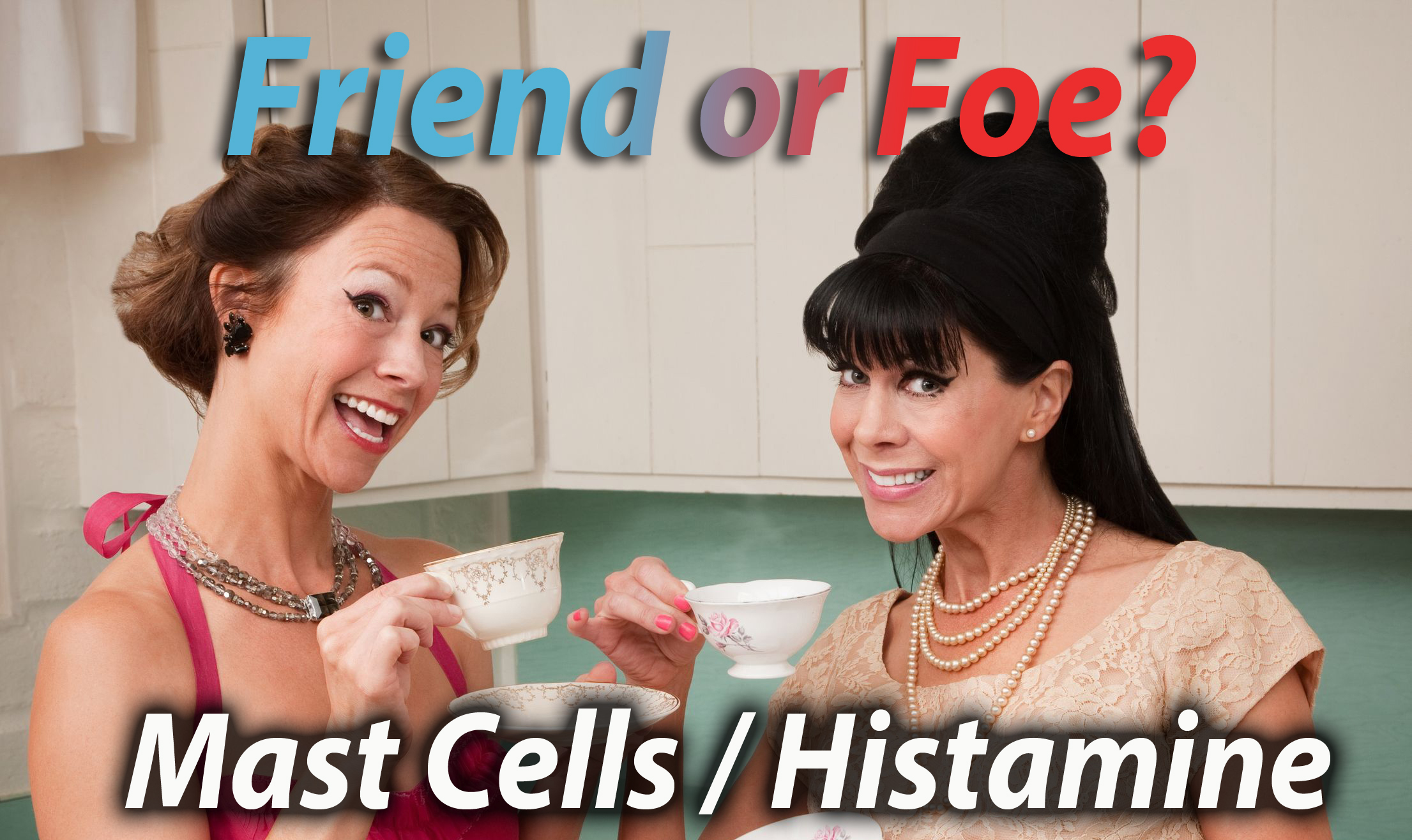 Mast Cells / Histamine: Friend or Foe!? - Healthcoach7
